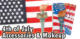 4Th Of July Accessories and Makeup
