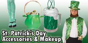 St. Patrick's Day Accessories and Makeup