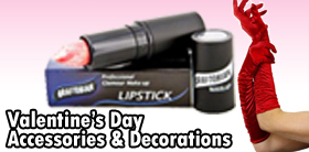 Valentine's Day Accessories and Makeup