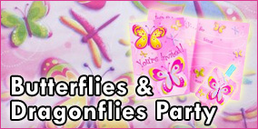 Butterflies and Dragonflies Party