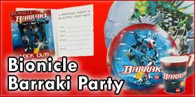 Bionicle Barraki Party