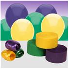 Purple, Yellow and Green Decorating Kit
