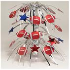 Football Mini Cascading Centerpiece